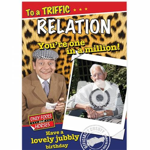 Only Fools And Horses One In A Million Birthday Card