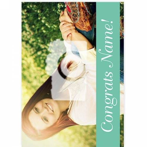 Congrats! Photo Any Occasion Card