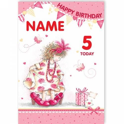 Big Shoes Happy Birthday Card