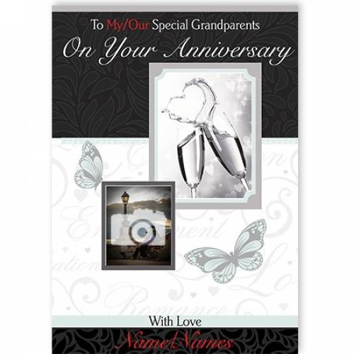 To My / Our Special Grandparents With Love Card