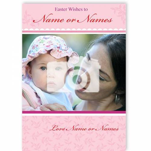 Easter Wishes To Name Or Names Love Name Card