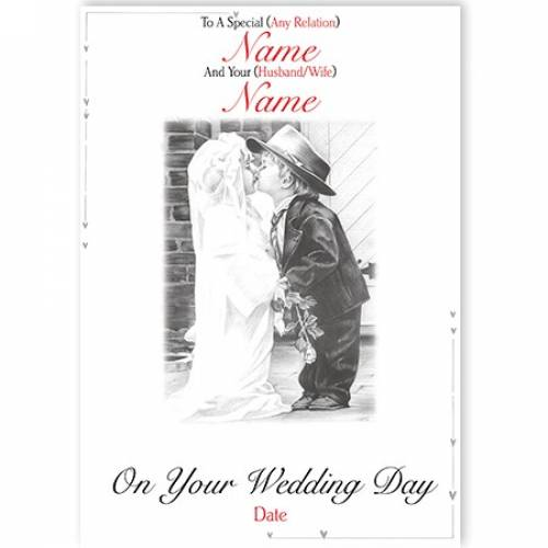 Wedding Day Son/Daughter/Relation Card