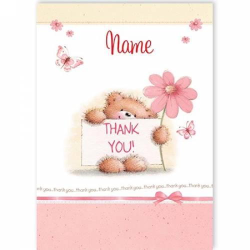 Thank You Teddy Card