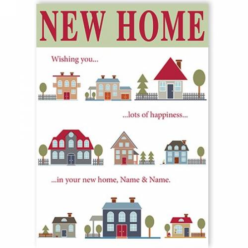 New Home House Style Card