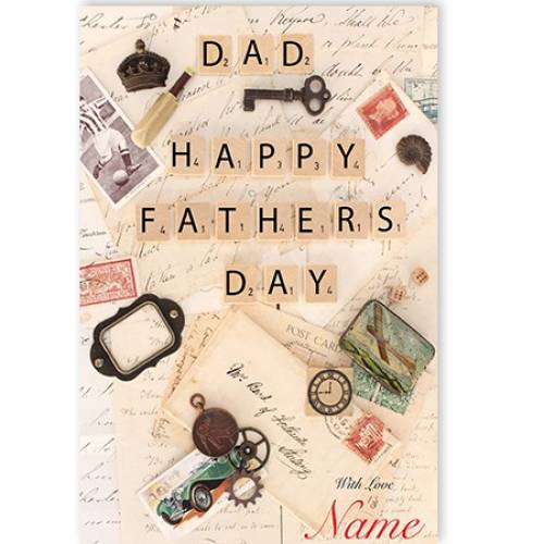 Dad Happy Fathers Day Card