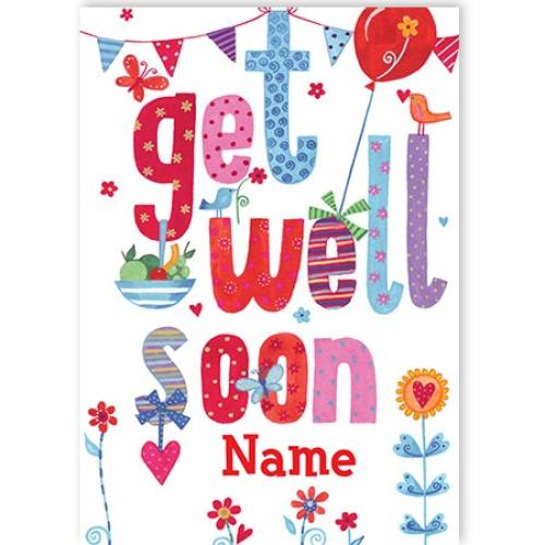 Get Well Soon Wishes Card