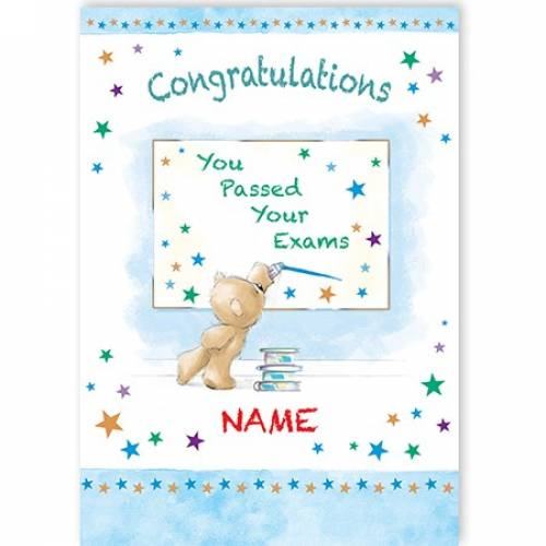 Congratulations You Passed Your Exam Card