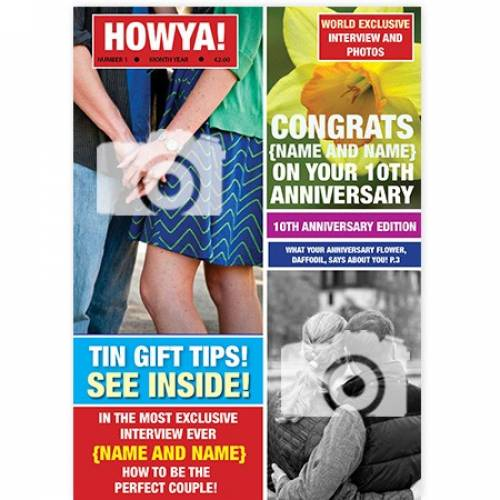 HOwya Magazine Cover Card
