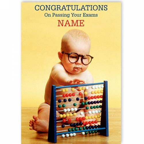 Congratulations On Passing Junior Cert Abacus Card