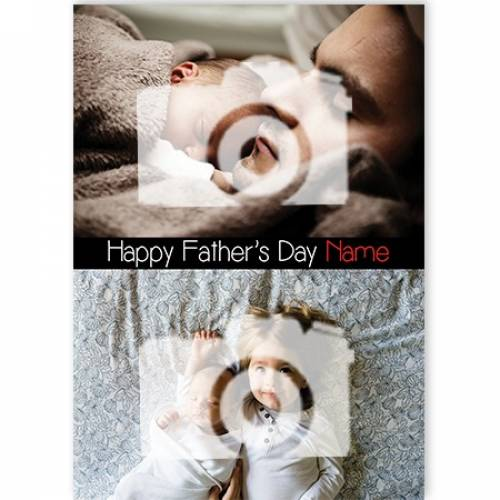 Happy Father's Day NAME Card