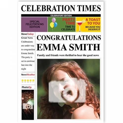 Celebration Times Good News Card