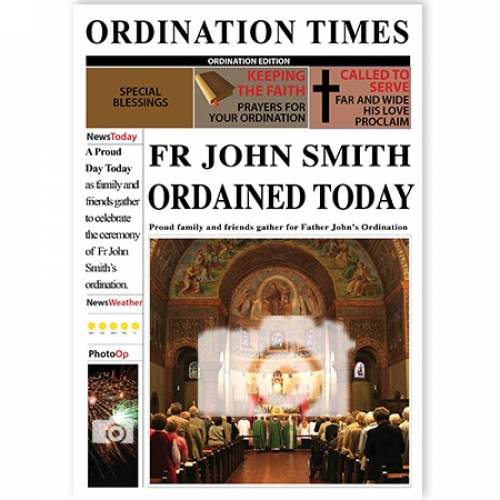 OPDINATION TIMES Card