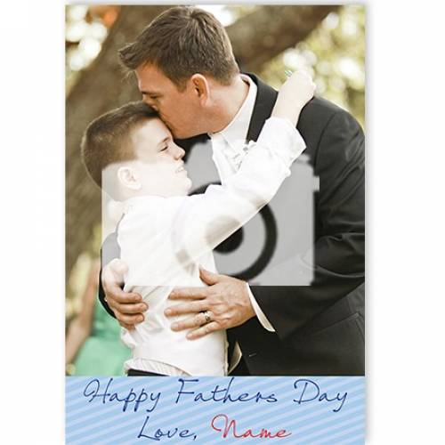 Photo Happy Father's Day Card