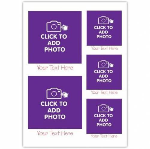Click To Add Photo Card