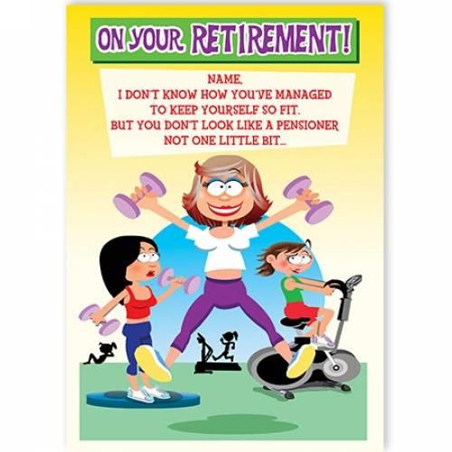 Female Retirement  Card