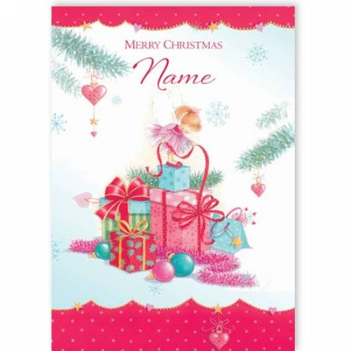 Presents Merry Christmas Card