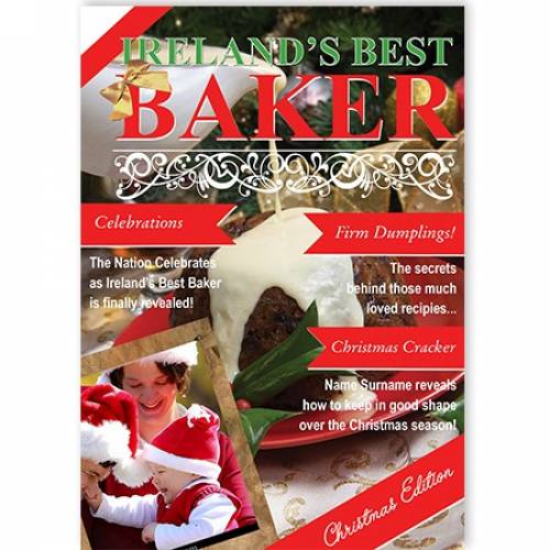 Ireland's Best Baker Christmas Card