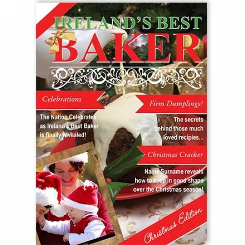 Ireland's Best Baker Christmas Card