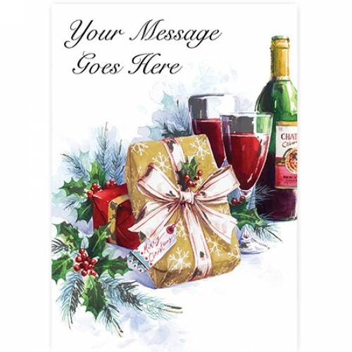 Christmas Holly Gift Card