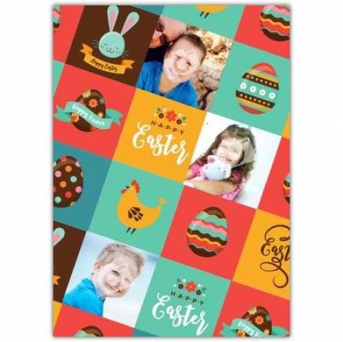 Happy Easter Designed Card