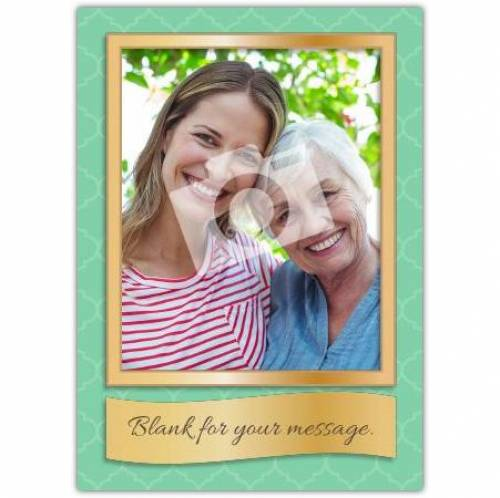 Picture Frame Card