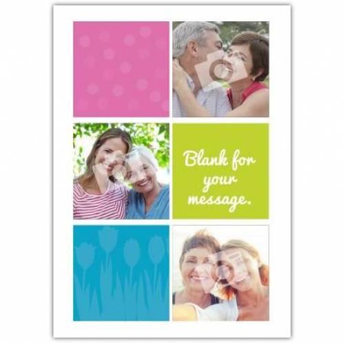 Three Photo Card