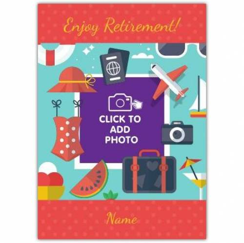 Holiday Happy Retirement Card