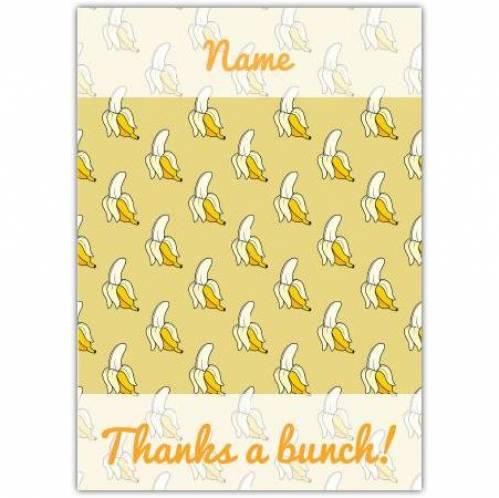 Bananas Thank You  Card