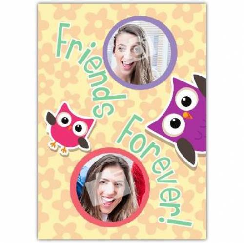 Owl Friends Forever Card