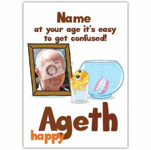 Easy To Get Confused Happy Birthday Card