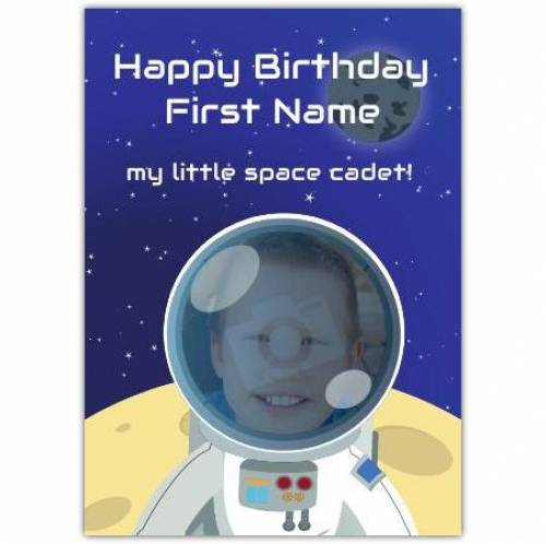 My Little Space Cadet Happy Birthday Card