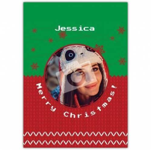 Merry Christmas Jumper Card