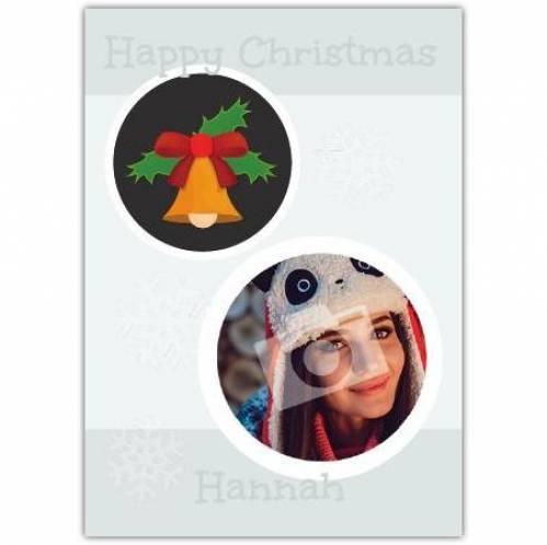 Holly Bell Christmas Card