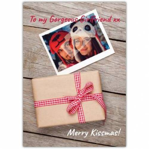 Merry Kissmas Christmas Card