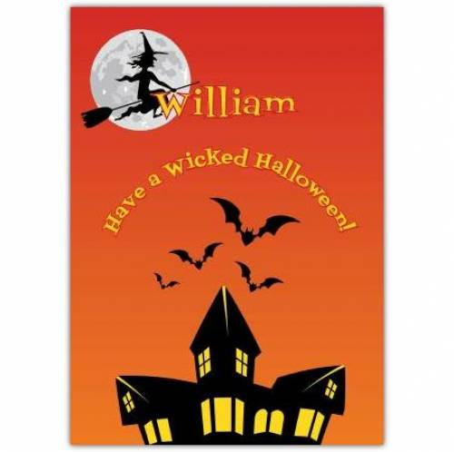 Have A Wicked Halloween Card