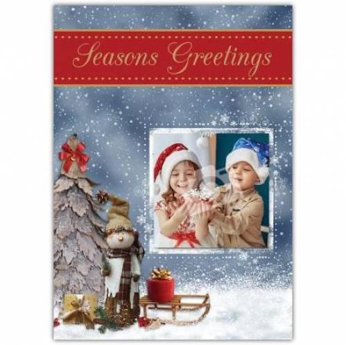 Seasons Greetings Photo Card