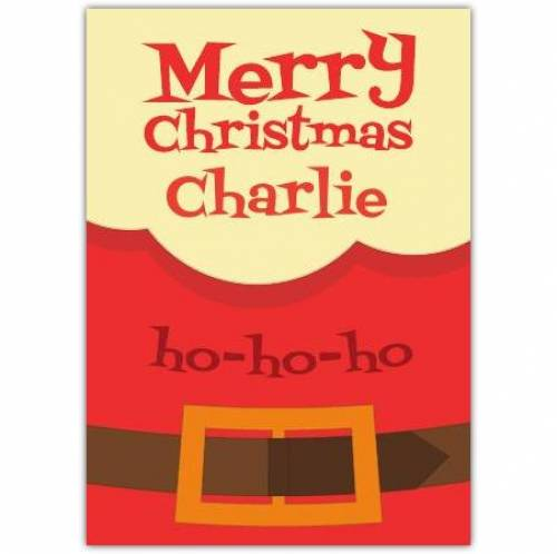 Merry Christmas Ho-ho-ho Card