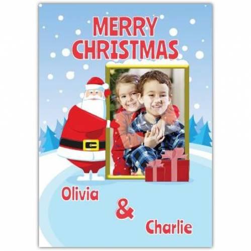 Santa Merry Christmas Card