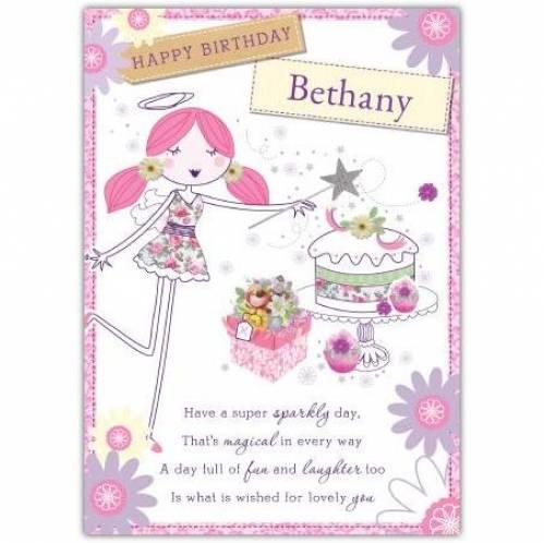 Happy Birthday Angel Card