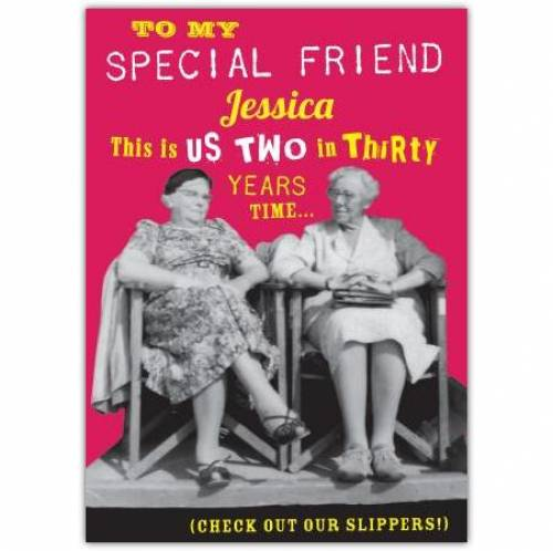 To My Special Friend Card