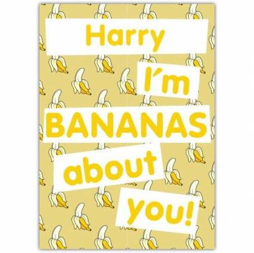 I'm Bananas About You! Card