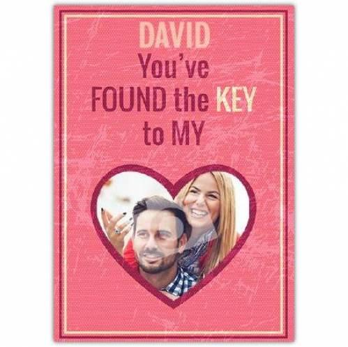 Key To My Heart Card