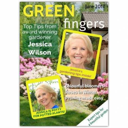 Green Fingers Card