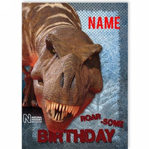 Dinosaur Roar Some Birthday Card