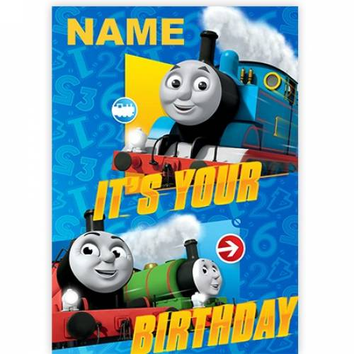 It's Your Birthday Thomas The Tank Engine Card