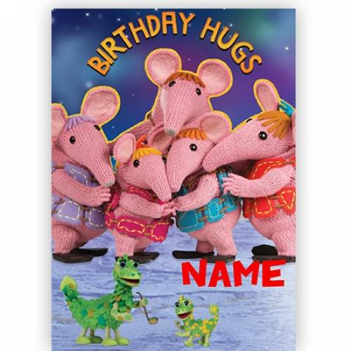 Clangers Birthday Hugs Birthday Card