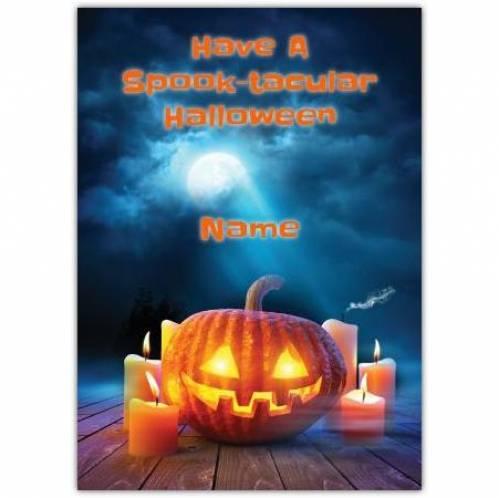 Have A Spook-Tacular Halloween Card