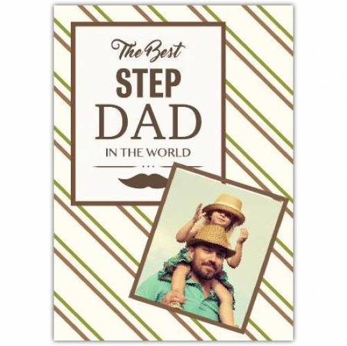 The Best Step Dad In The World Card