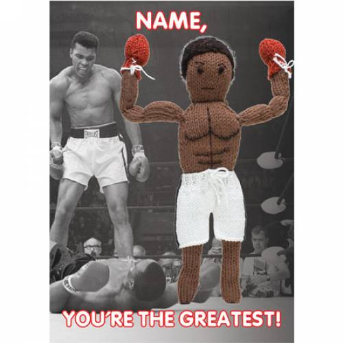 You're The Greatest Personalised Card