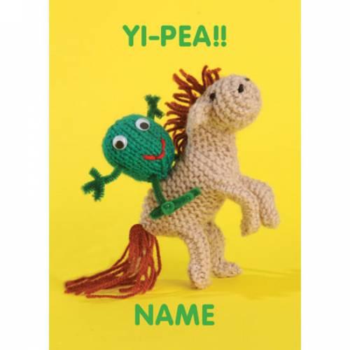 Yi-Pea Greeting Card